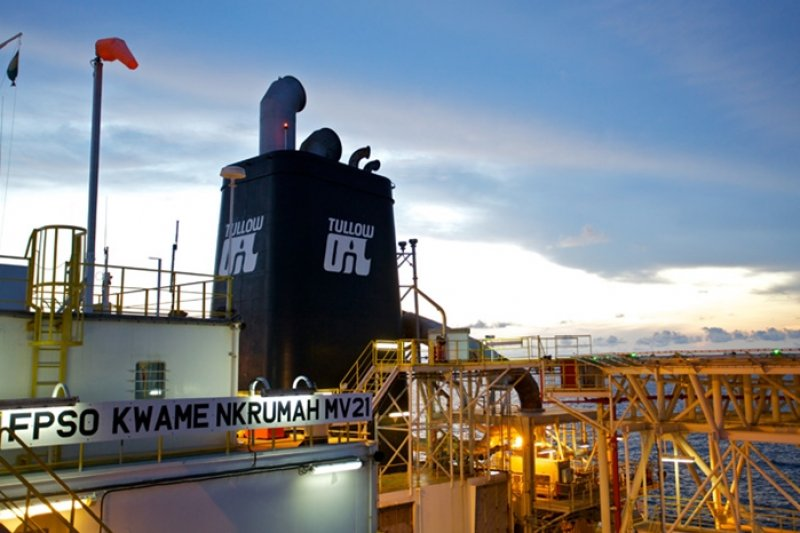 Ghana Tullow Resumes Exports From Jubilee Field