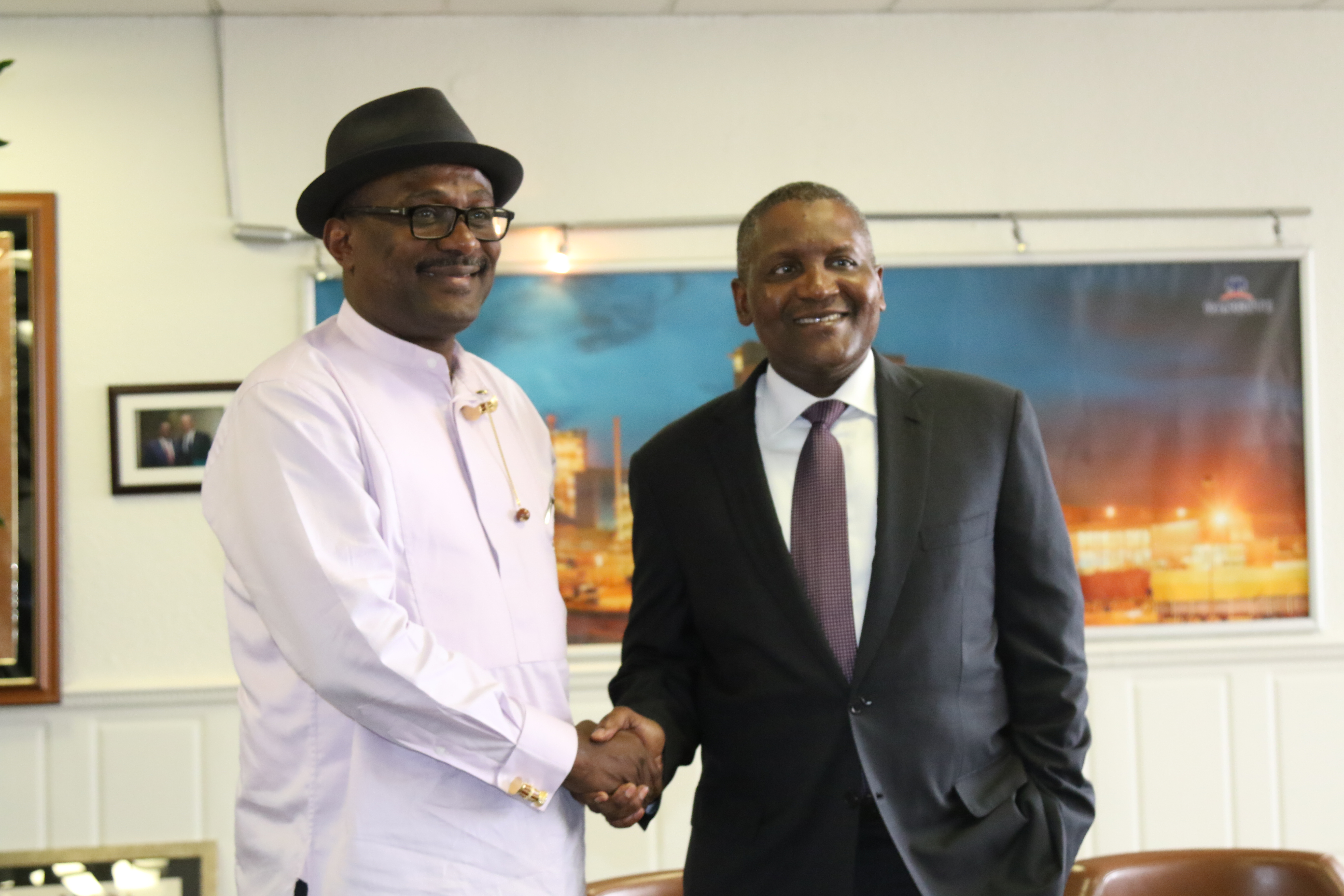 News1 - NCDMB, Dangote begin collaboration on Refeinery project