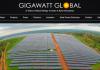 Solar Pioneer Gigawatt Global Expands Green Energy Offerings in Africa
