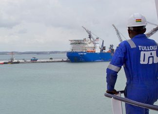 Ghana keeps Tullow Oil Fields after maritime border ruling