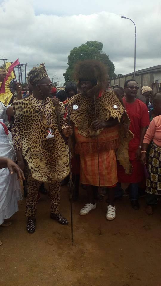 Ibe Kachikwu Wears Leopard Skin Attire For Cultural Display (Photos)