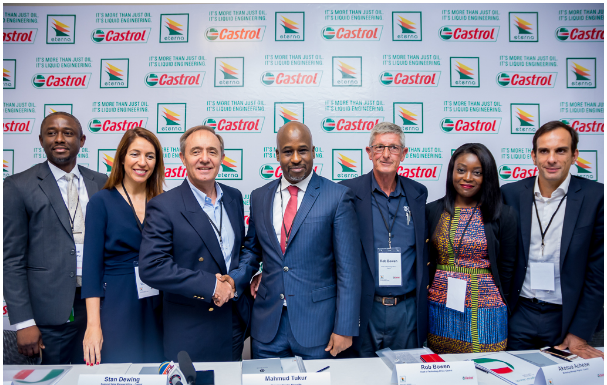 Eterna Oil Plc Secures Exclusive Right to Produce and Distribute Castrol Lubricants