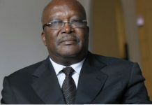 President Roch Christian Kaboré of Burkina Faso