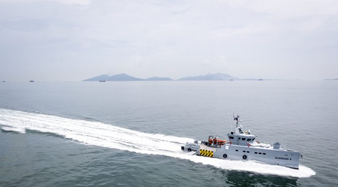 Homeland takes delivery of fourth 3307 Patrol Vessel