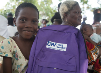 Dreg Waters Empowers Children at Tarkwa Bay Community