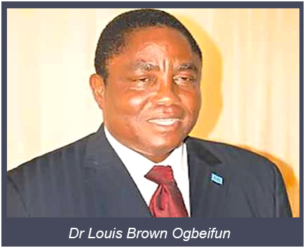 Dr Louis Brown Ogbeifun - Oil Politics: Delay in PIB Passage, Elections Stifling Nigeria's Petroleum  Industry