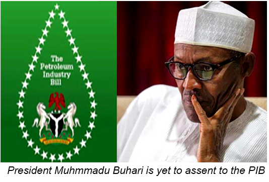 President Muhmmadu Buhari is yet to assent to the PIB - Oil Politics: Delay in PIB Passage, Elections Stifling Nigeria's Petroleum  Industry