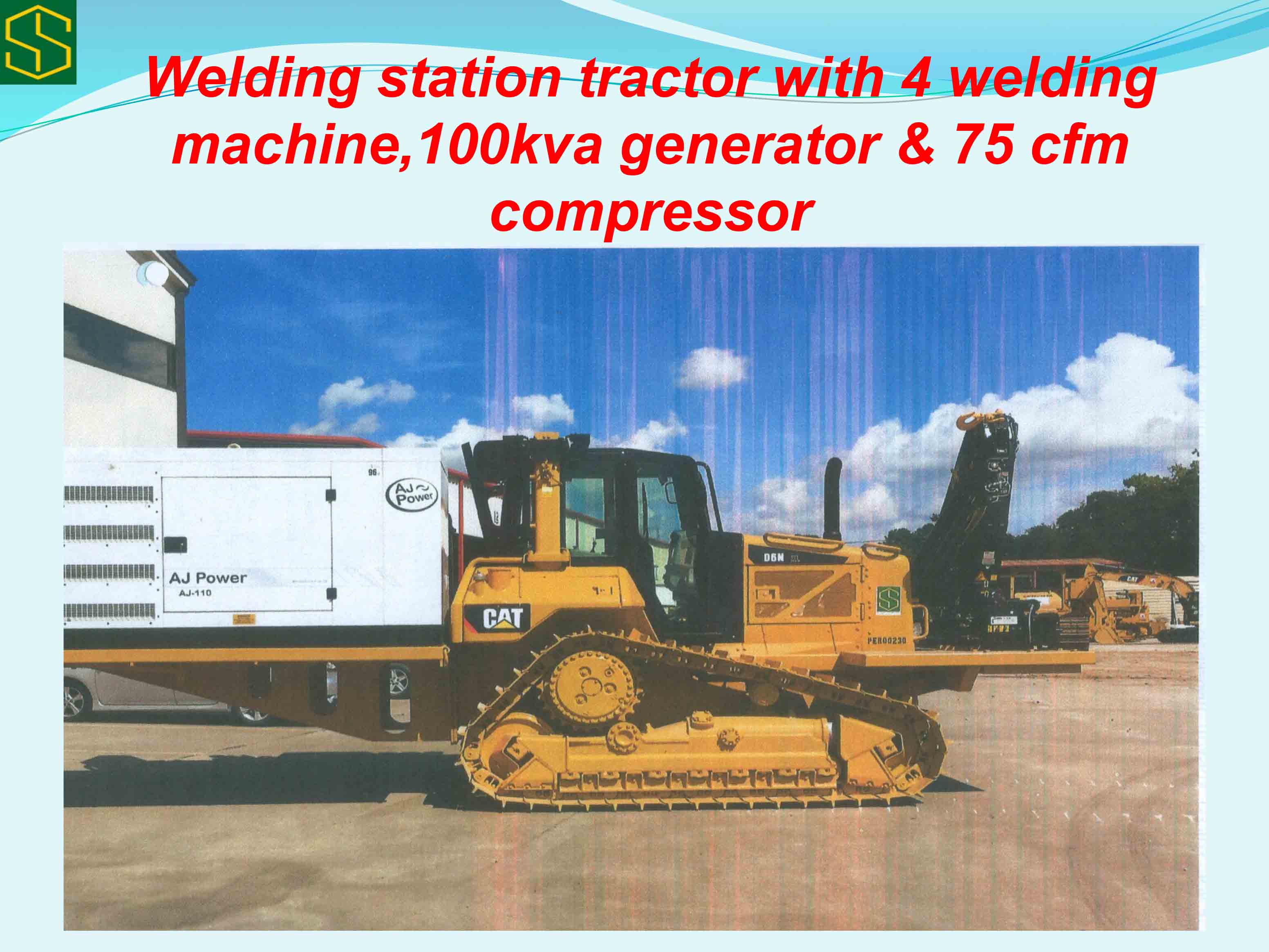 Slot Engineering welding tractor machine - 'Our Logistics Base Was Built To Tackle Contractors' Accommodation Problems,' Says Ojukwu