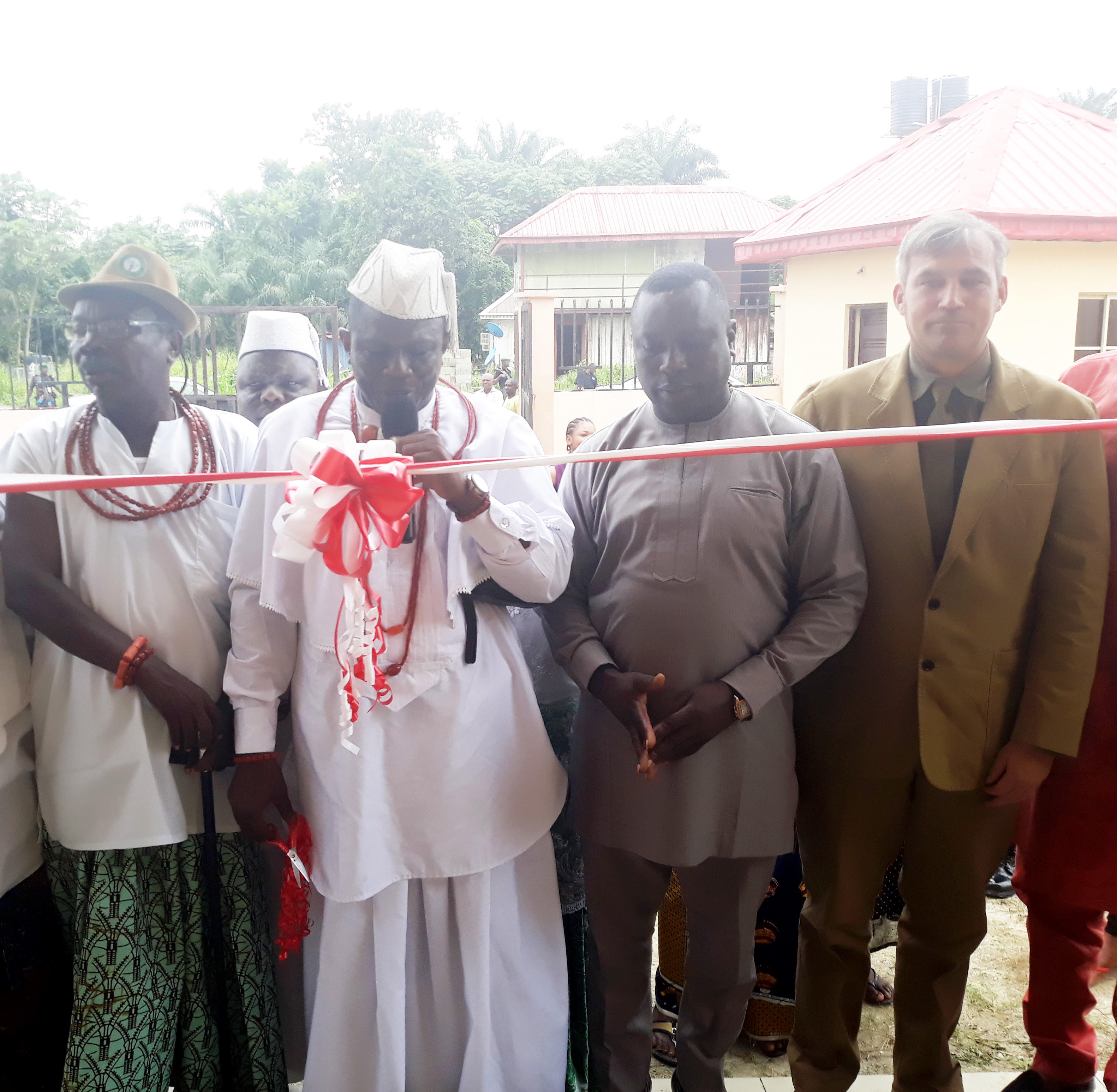 unnamed 2 - INTELS donates health centre to delta community