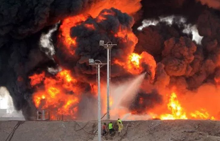 Explosions damage crude, gas pipelines at Shell, Agip oil fields in Bayelsa